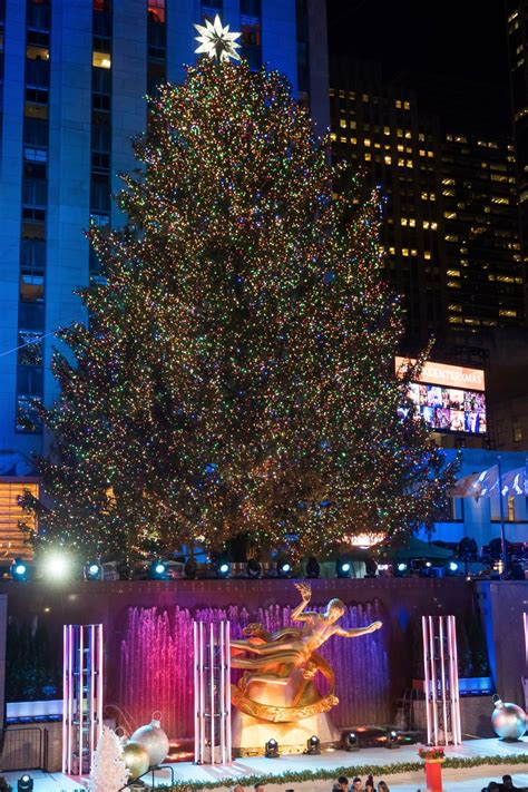 rockefeller center christmas tree lighting 2017 performers