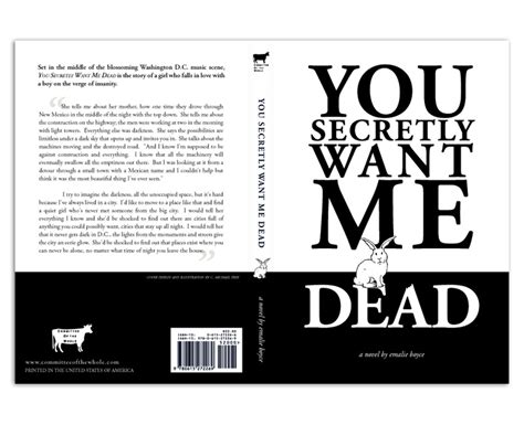 layout book cover frey art design you secretly want me dead