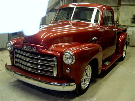 1953 gmc 5 window truck