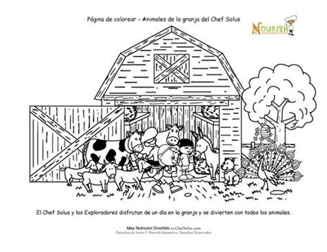 animal coloring book pages - Farm Animal Coloring Book Coloring Home ...