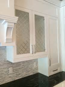 cabinet glass inserts the shoppe division builders frosted for kitchen cabinets with etched pattern
