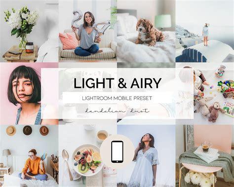 3 Lightroom Mobile Presets   Desktop Presets // LIGHT