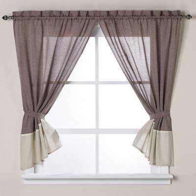 Bathroom Window Curtains Burgundy Buy Shower Window Curtains From Bed Bath Beyond