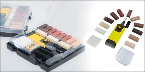 19pc Laminate Floor / Worktop Repair Kit Wax System Sturdy