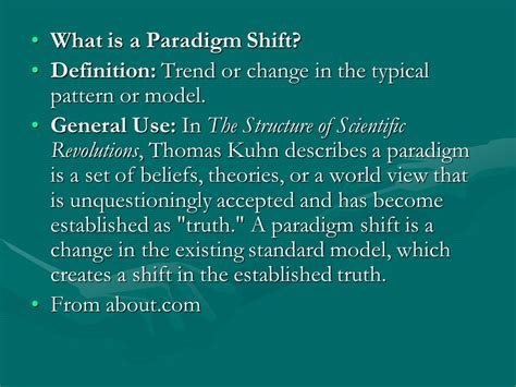 pattern change meaning theory of knowledge paradigm ppt video online download