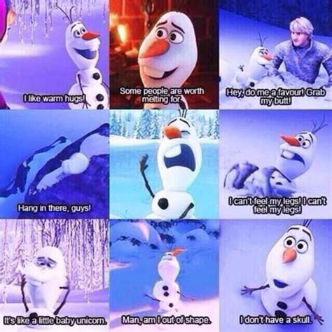 Olaf Meme - olaf the snowman from frozen picture comic strips