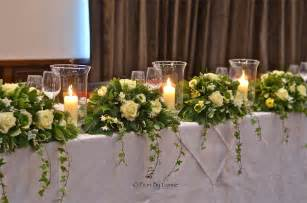 tisch blumen hochzeit wedding flowers february 2013