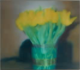 Flower In Vase Drawing Gerhard Richter P17 Tulips New Art Editions