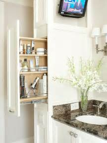 Pull Out Bathroom Storage Pull Out Bathroom Cabinets Transitional Bathroom Bhg