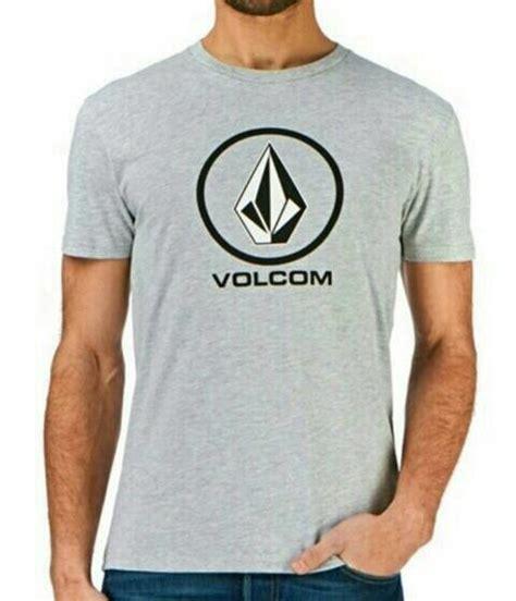 Tshirt Pria Volcom A 9473 jual t shirt kaos cotton combed 30s volcom logo di lapak d
