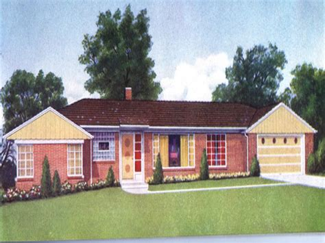 1950 style homes 1950s brick ranch style homes 1950 ranch style home colors