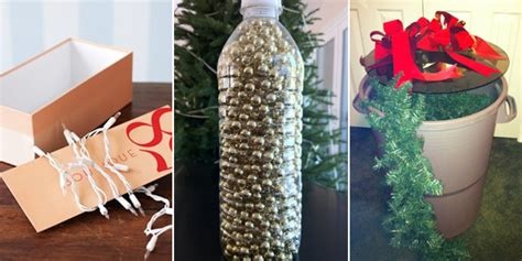 how to organize a christmas tree 15 smart ways for storing organizing decorations