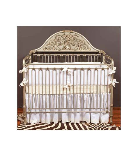 Silver Baby Crib by Bratt Dcor Chelsea Collection Iron Lifetime Crib Antique