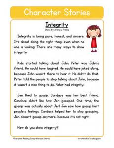 reading comprehension worksheet forgiveness