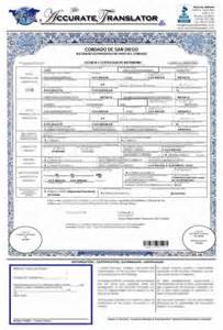 marriage certificate translation from to template pin birth certificate translation certified foreign