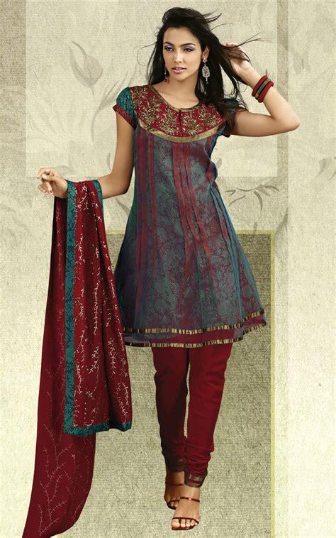 dress design salwar kameez indian churidaar suits 2010 11 anarkali churidaar salwar