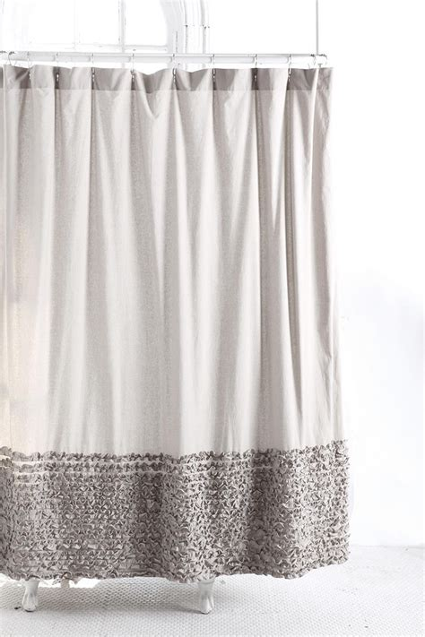 white ruffle shower curtain urban outfitters bloomer ruffle shower curtain