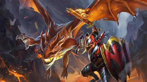 Dota 2 Wallpaper Dragon Knight | davion dragon knight dota 2 02 wallpaper hd