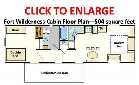 cabin floorplan disney s fort wilderness resort cabins floorplan 186 o 186