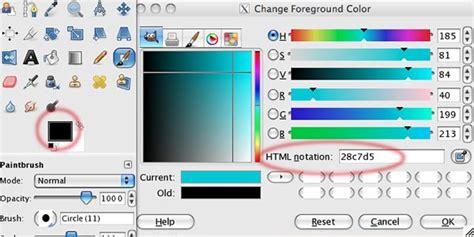 gimp replace color change the eye color gimp tutorials