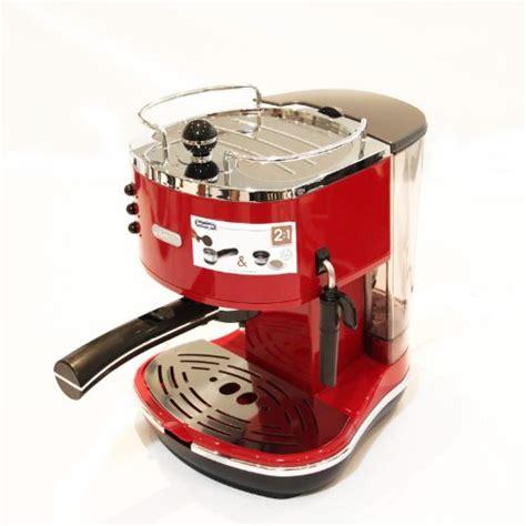 Delonghi Cto4003 R Toaster Merah de longhi icona eco310 r espresso machine scarlet