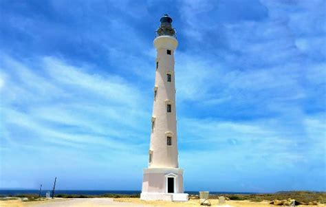 California Light by California Lighthouse Noord Aruba Visiting California
