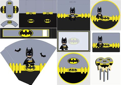 free printable batman party decorations batman party printables pictures to pin on pinterest