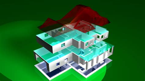 Virtual Interior Home Design by 3d Printing Of House Plans From The Plan Collection