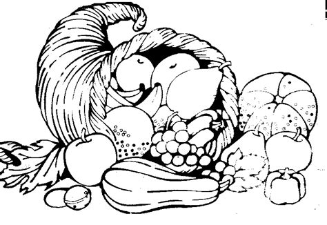 thanksgiving outline clipart 44 feast clipart black and white pencil and in color feast