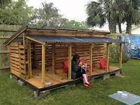 Fabriquer Une Cabane En Bois Avec Des Palettes  La Maisonnette