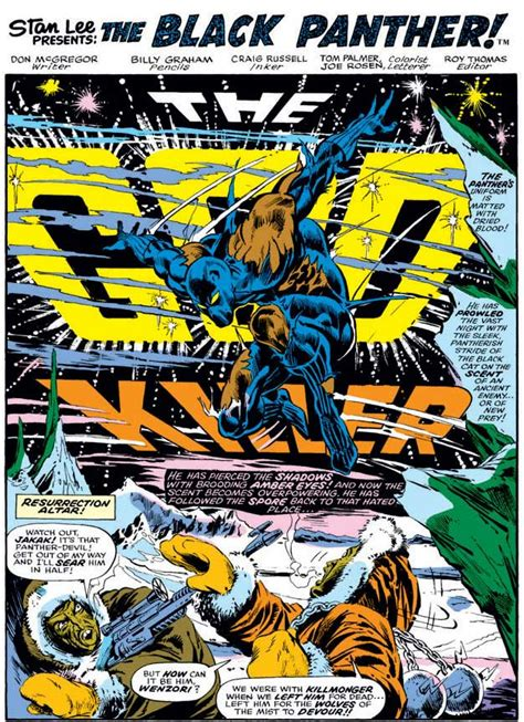 black panther epic collection panther s rage don mcgregor the official website of don mcgregor
