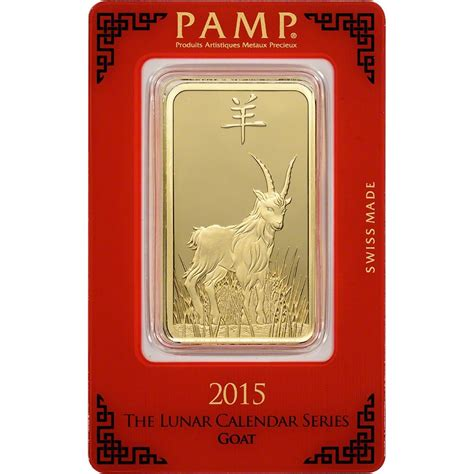 1 oz silver bar p suisse year of the monkey 1 oz gold bar p suisse year of the goat 999 9