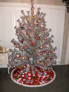 7 ft evergleam aluminum christmas tree ebay