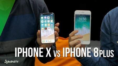 iphone x o iphone 8 plus 191 cu 225 l es mejor enfrentamos a los dos nuevos smartphones de apple