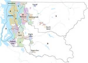 districts and councilmembers king county