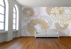 room mockup room mockup wallpaper laurel leaf babyfish2 flickr