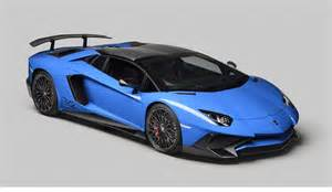 About Lamborghini Cars Lamborghini Aventador Blue Concept Car 2015 All About
