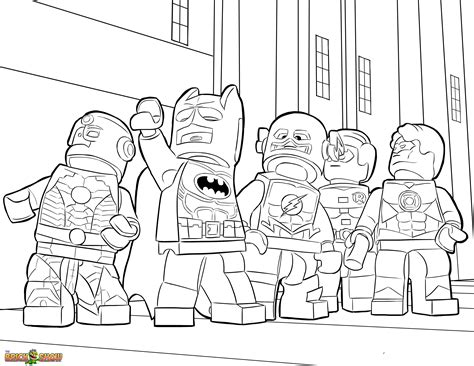 The Lego Movie Coloring Pages Free Printable The Lego Printable Lego Coloring Pages