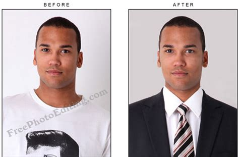 Edit Resume Online Free by Free Photo Editing Official Formal Id Photos Headshot
