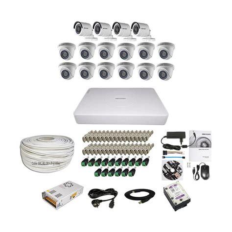 Paket Cctv 4 Hikvision Hd 2mp Komplit Tggl Pasang 1 harga hikvision 1mp dan 2mp murah dokuprice