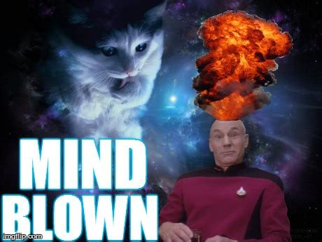 Mind Blowing Meme - captain picard mind blown imgflip