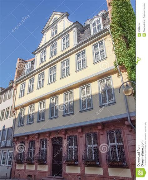 goethe haus frankfurt goethe haus frankfurt stock photo image 37888420