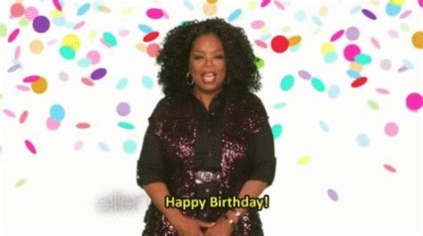 oprah winfrey birthday happybirthday oprah gif happybirthday oprah discover