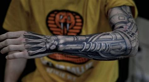 terminator tattoo designs biomechanical tattoos designs best ideas for you