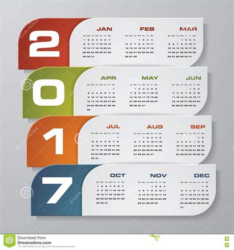 design calendar modern modern design calendar 2017 year vector design template 12