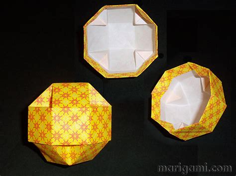 How To Make A Paper Octagon - origami octagon 171 embroidery origami