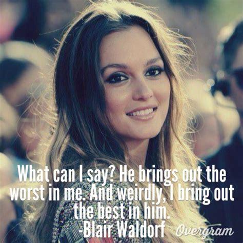 ideas  blair waldorf quotes  pinterest blair quotes gossip girl quotes