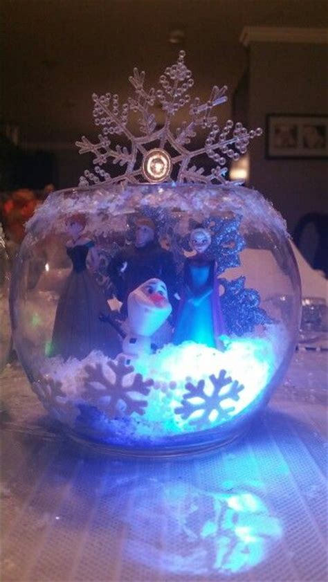frozen table centerpieces best 25 frozen centerpieces ideas on frozen