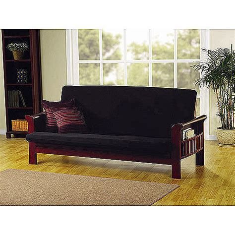 futon covers at walmart mainstays stretch futon cover walmart com
