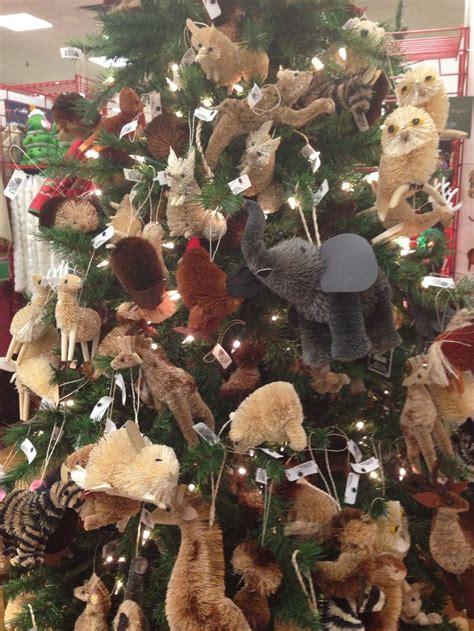 animal themed christmas tree   cute    woodland animal themed tree   litt